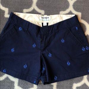 Old Navy shorts. Size 0